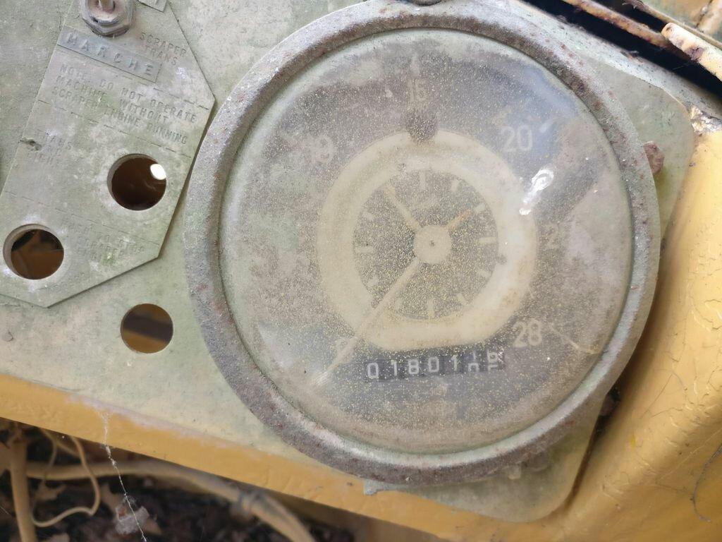 Décapeuse CATERPILLAR 627 - Codimatra<br />