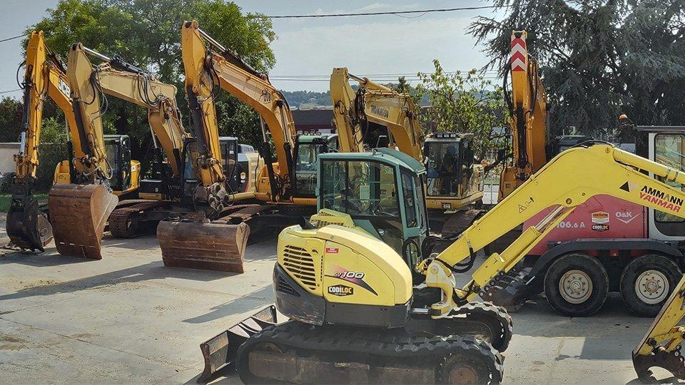 Dernier arrivage de machines disponibles à la vente chez Codimatra !