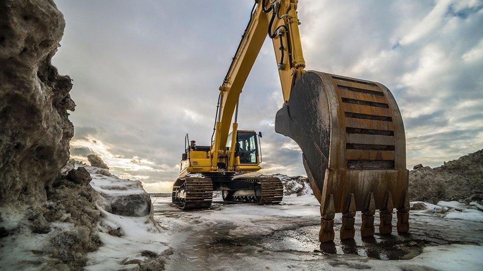Les effets du froid sur votre machine de travaux publics