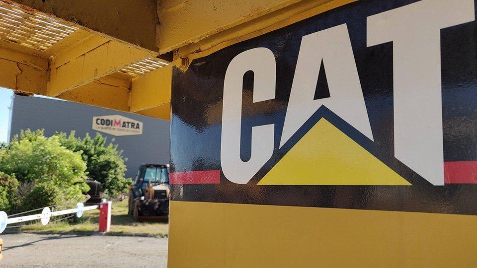 Caterpillar à déconstruire ou à vendre chez Codimatra !
