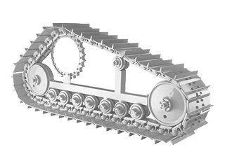 Train de chaîne pour CASE 688B