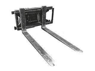 Porte fourches pour CATERPILLAR TH62