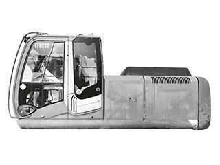 Châssis haut pour CATERPILLAR 950K