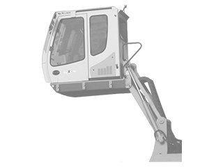 Articulation cabine pour LIEBHERR A902
