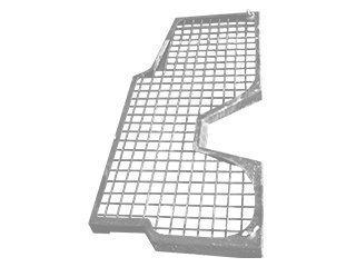 Protection de cabine pour KOMATSU PW140-7