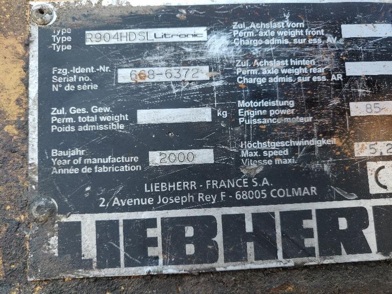 Pelle sur chenilles LIEBHERR R904HDSL