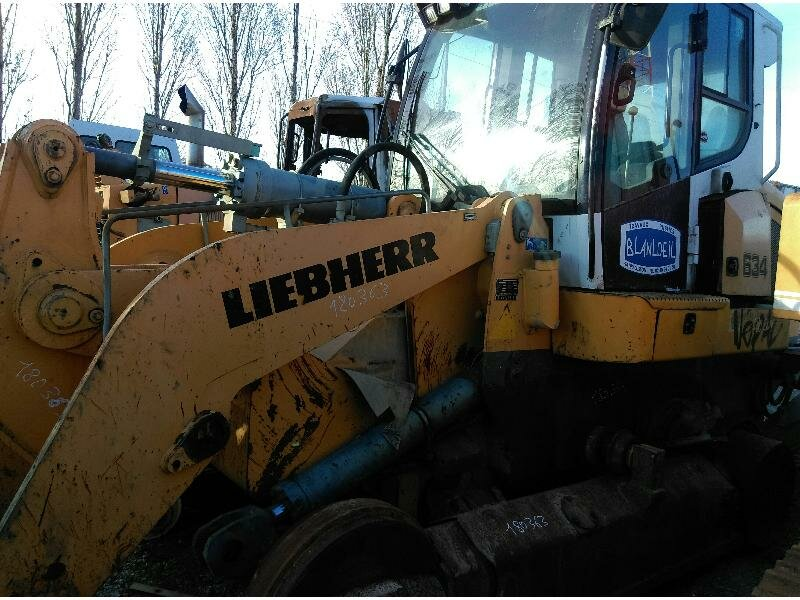 Renvoi pour LIEBHERR LR634