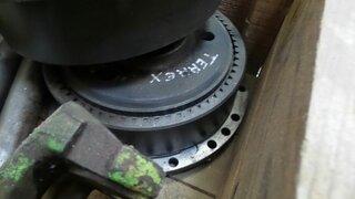 Réducteur de roue pour TEREX 2566