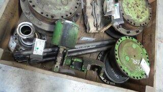 Arbre de roue pour TEREX 2566