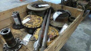 Arbre de roue pour HANOMAG 44C
