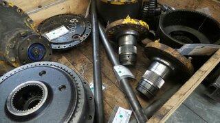 Arbre de roue pour HANOMAG 55D