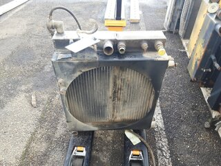 Radiateur eau pour AMMANN AV95
