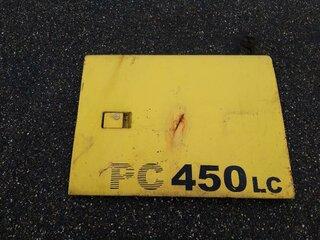 Porte de compartiment pour KOMATSU PC450-6