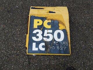 Porte de compartiment pour KOMATSU PC350-8