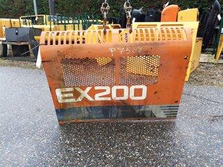 Porte de compartiment pour HITACHI EX200