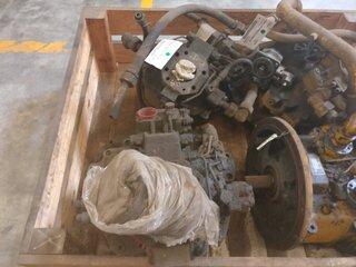 Pompe hydraulique principale pour RICHIER H50