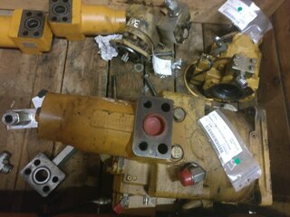 Pompe hydraulique de rotation pour CATERPILLAR 365B