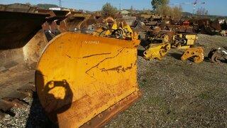 Lame de bulldozer pour VOLVO L180