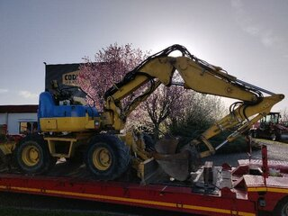 Biellette de direction pour KOMATSU PW98MR-8
