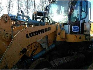 Moteur de ventilateur pour LIEBHERR LR634