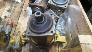 Moteur hydraulique d'avancement pour CATERPILLAR 906