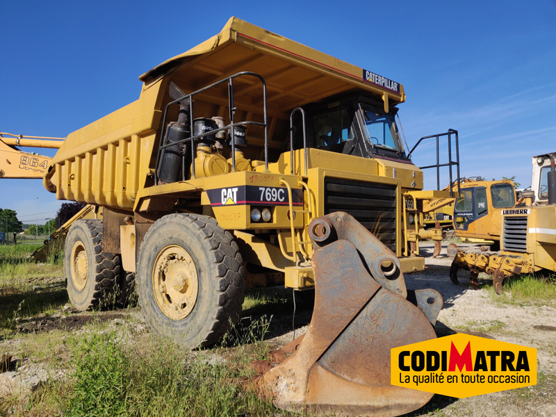 Caterpillar 769 tombereau rigide
